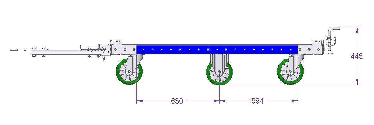Tugger Cart – 1610 x 1190 mm