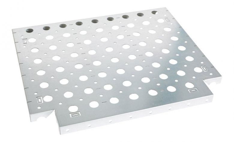 Shelf 700 x 595 mm with Holes