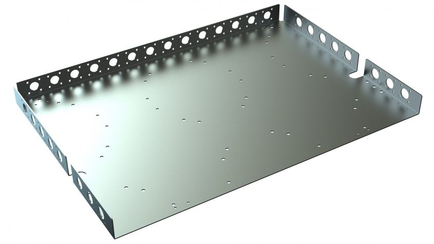 Attachment plate - 738 x 1050 mm