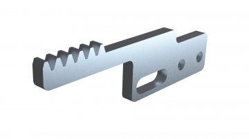 Toothed Rack Pin