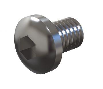 Round Head - M5 x 8 mm