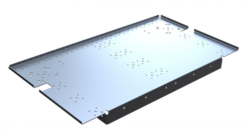 Shelf Half - 1120 x 629 mm