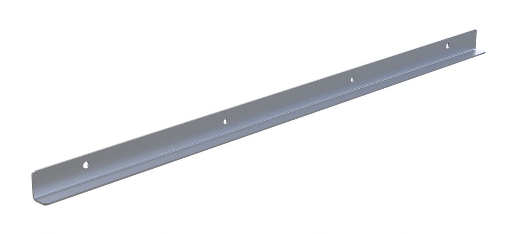 Front Plate for Telescopic Shelf