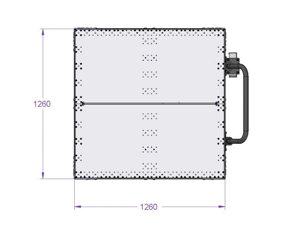 Tugger Cart - 1260 x 1260 mm