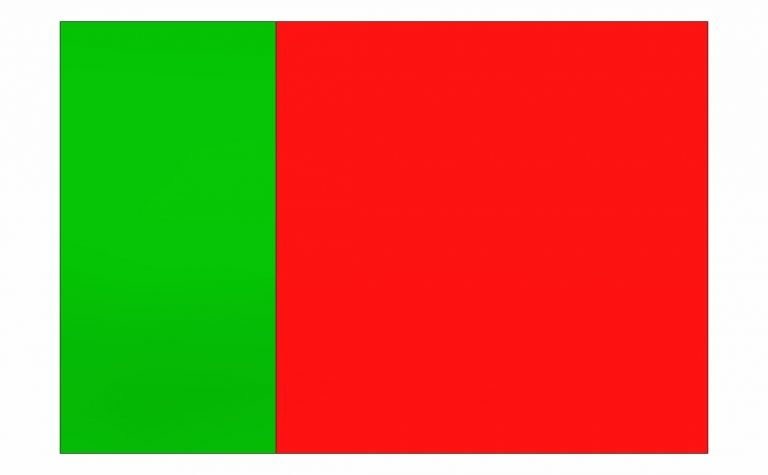 Sticker Green/Red