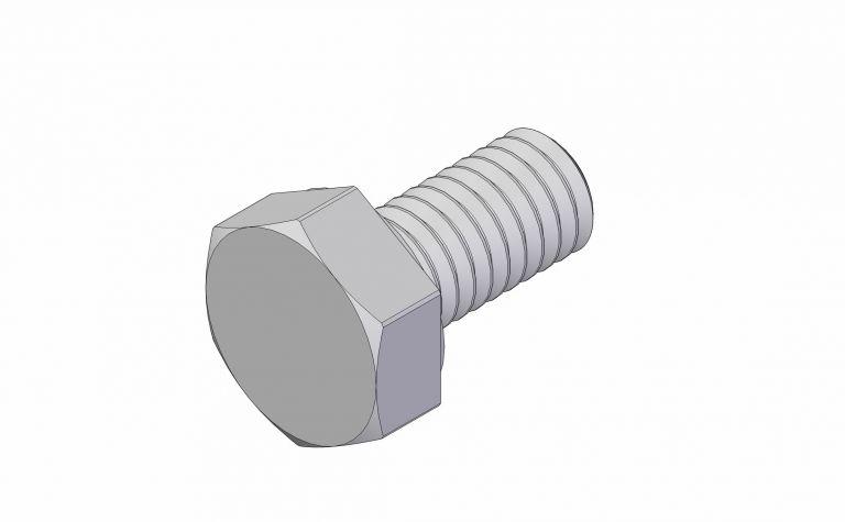 Hex Head - M4 x 8 mm