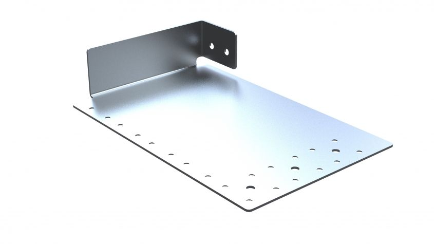 Wheel Box Cover Plate Right