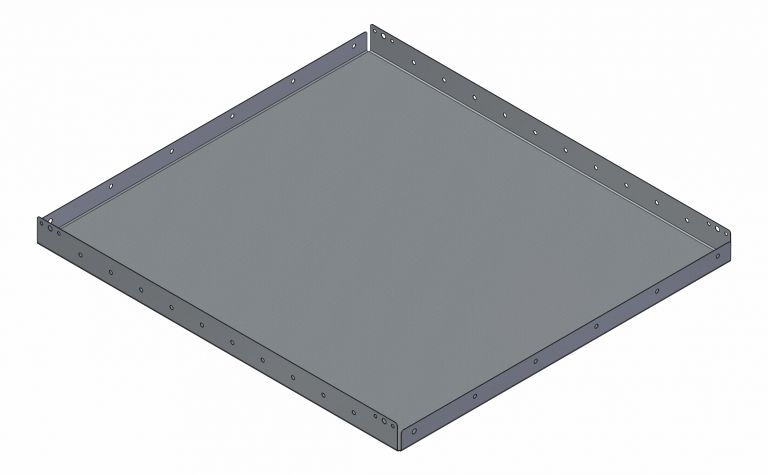 Flat Shelf - 769,5 x 840 mm