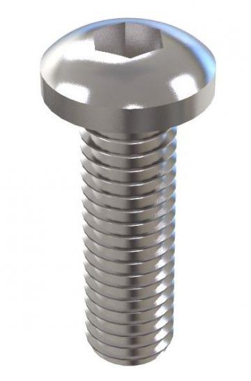 Round Head - M6 x 25 mm