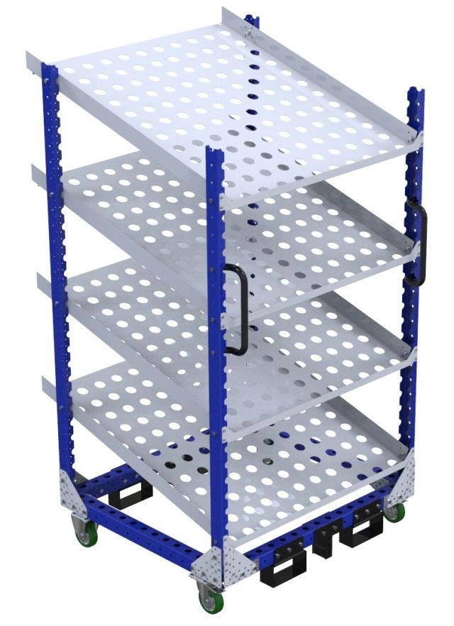Flow shelf Cart – 1050 x 1190 mm