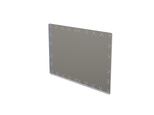 Top plate - 1260 x 840 mm