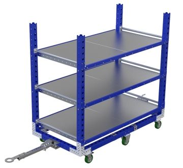 Flat Shelf Cart – 910 x 1750 mm