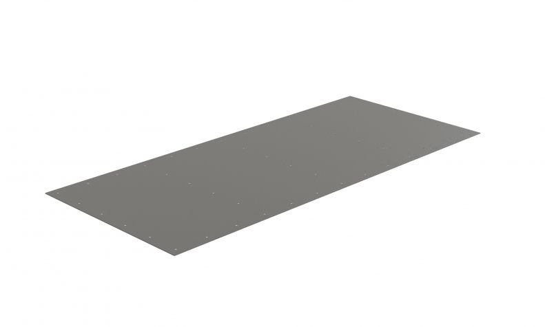 Top plate - 1750 x 770 mm