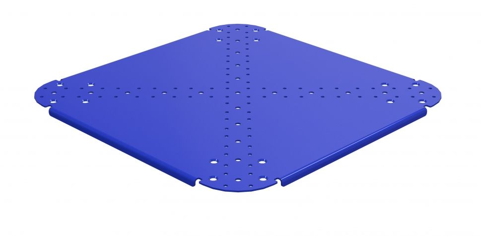 Bottom Plate - 23.4 x 23.4 inch