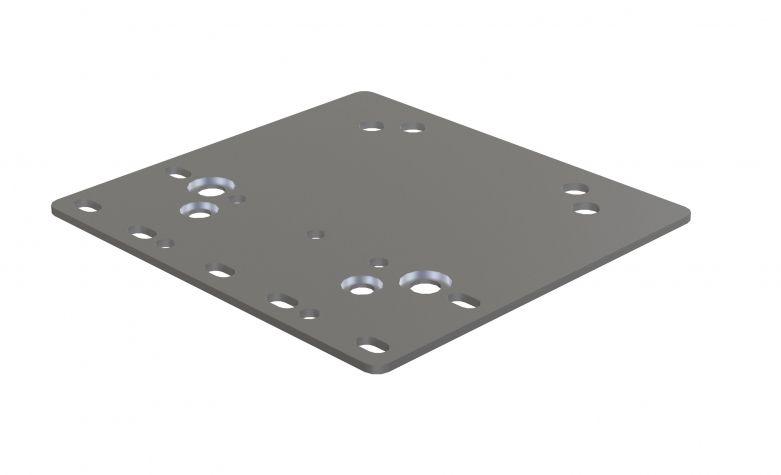 Wheel attachment plate Beam/Box