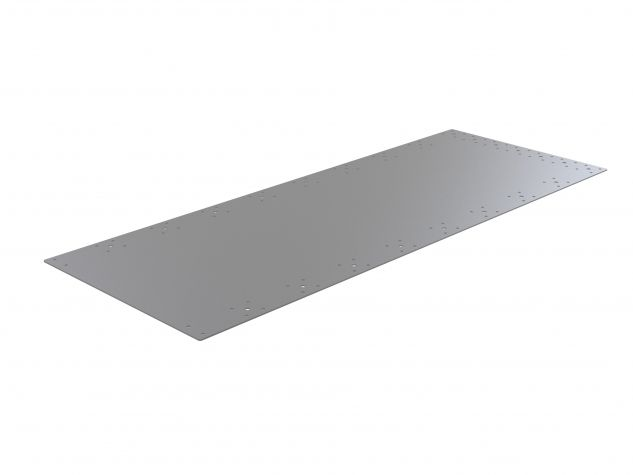 Top plate - 488 x 1293 mm