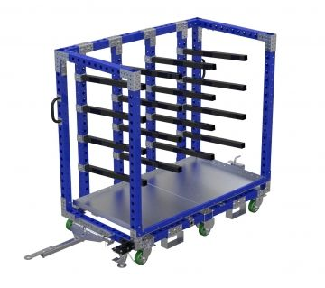 Shelf Cart – 70 x 36 Inches