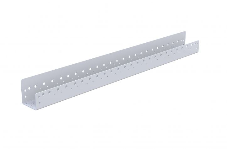 Roller guide - 1260 mm for 100 mm Rollers