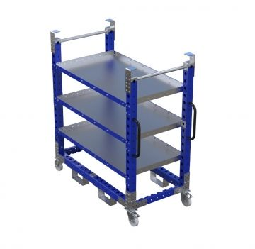 Daughter Cart (700 x 1330 mm) with Flat Shelves