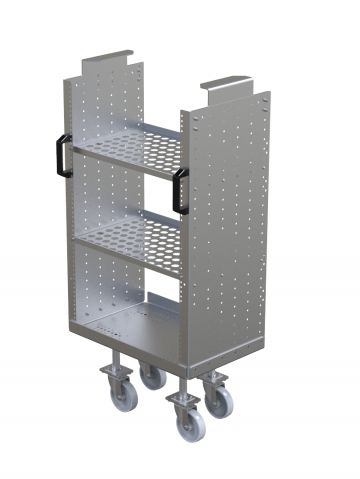 Small Cart with Shelves and Handles – Daughter Cart