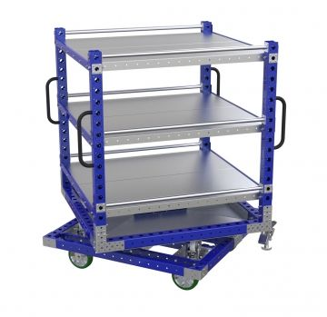 Rotating Shelf Cart – 50 x 50 inches