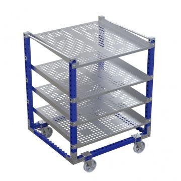 Flow shelf cart – 1400 x 1260 mm