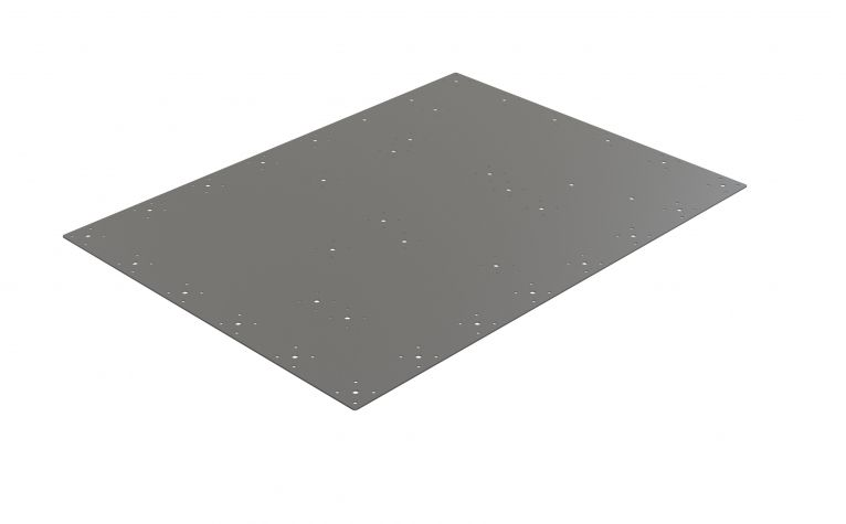 Top plate flat Kitting - 840 x 1050 mm