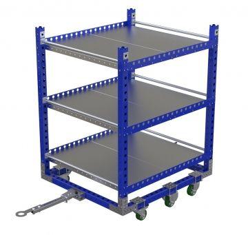 Flat Shelf Cart – 55 x 48 inches