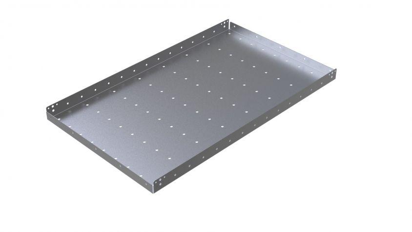 Flat Shelf w Holes - 630 x 1050 mm