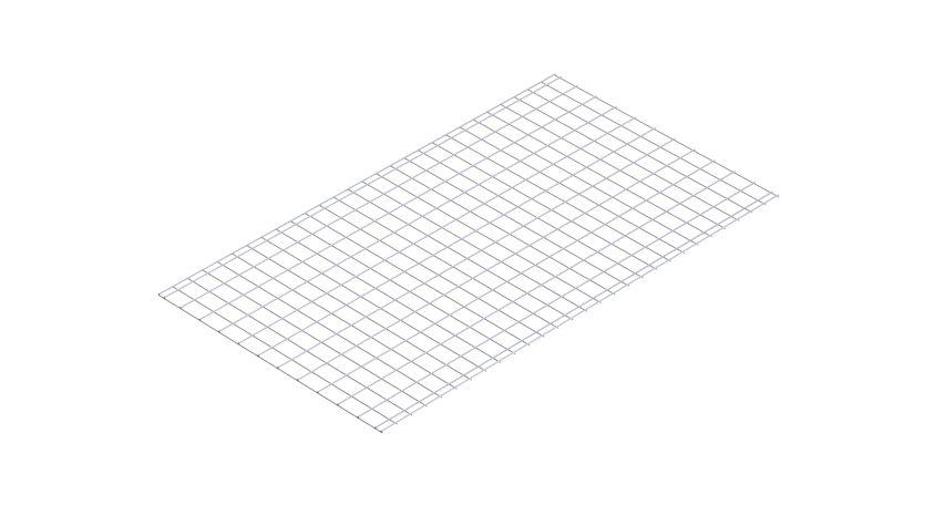 Wire Mesh - 790 x 1400 mm