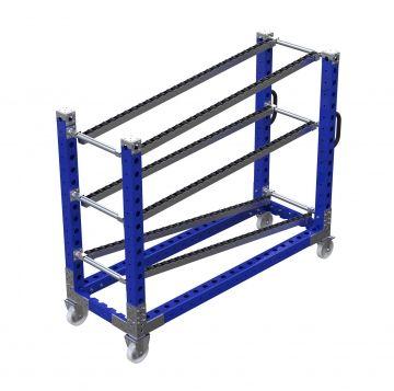 Flow Rack Trolley – 1680 x 560 mm