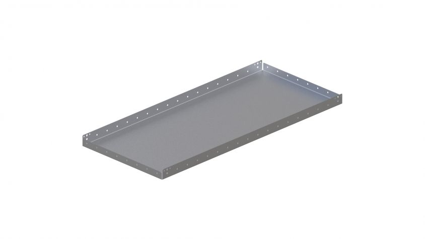 Top Plate with edge - 560 x 1260 mm