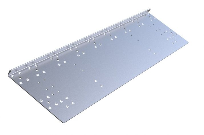 Top plate - 265 x 1150 mm