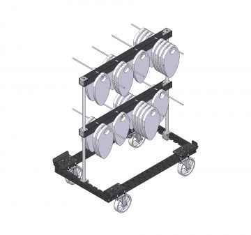 Rack Cart (2 levels)