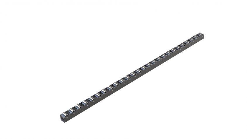 Roller rail - 1290 mm