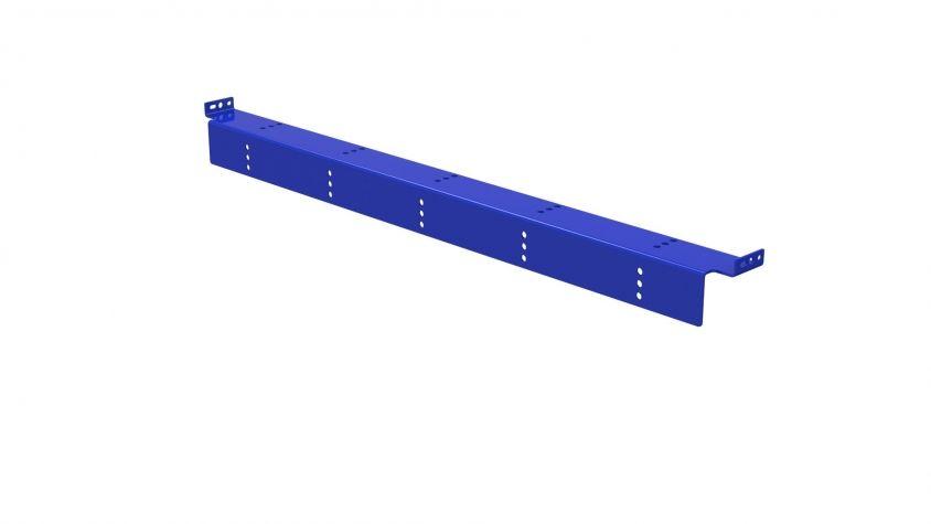 Plastic Shelf Side Support - 1120 mm