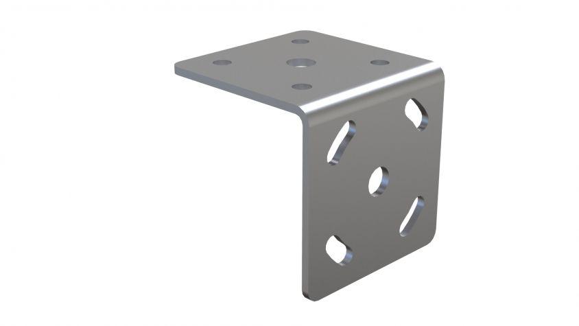 L Shape Attachment Plate - 70 x 70 mm