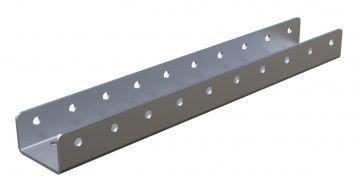 Roller rail for 35mm dia - 400 mm
