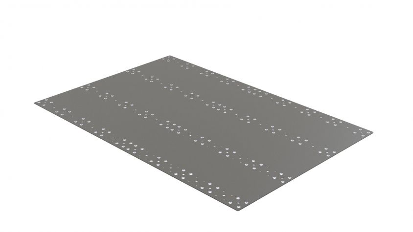 Top Plate - 840 x 1260 mm