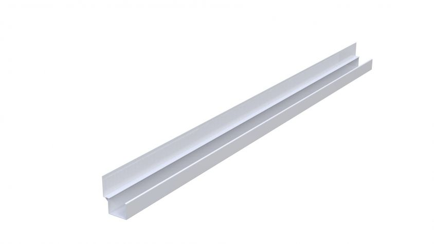 RR Guide 10 mm offset - 1000 mm