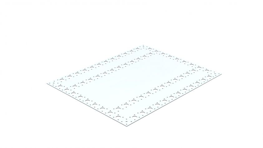 Top Plate - 980 x 770 mm