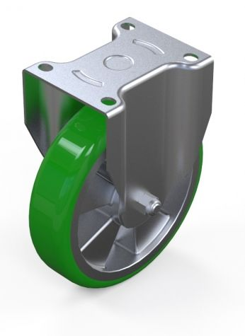 Caster Polyurethane 200 mm Fixed IP2