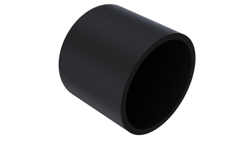 Flexible Vinyl Push - On Round Caps