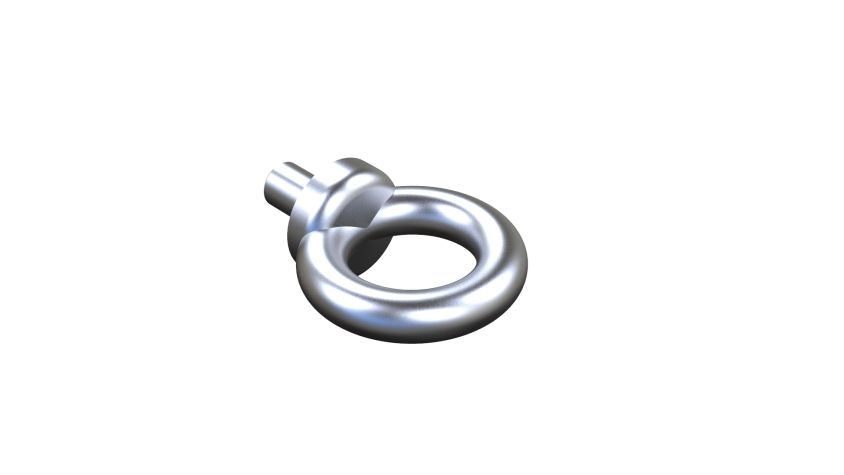 Lifting eyebolts DIN 580-M10-NI