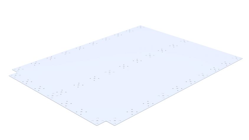Top Plate - 1400 x 1050 mm