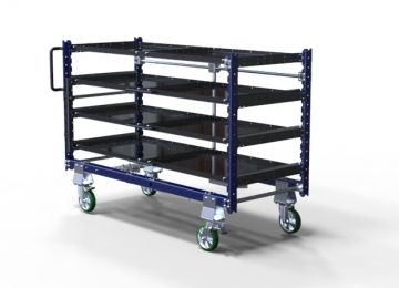 Kit Cart with Telescopic Shelves