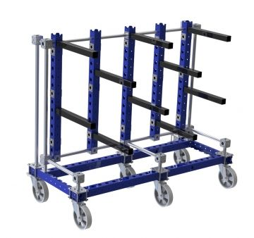 Wire Rope cart - 1 Side - Straight