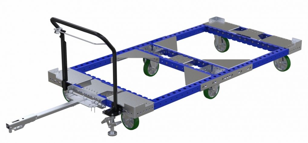 Rack cart 2450 x 1190 mm