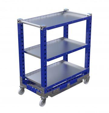 Flat Shelf Cart 44 x 24 inch