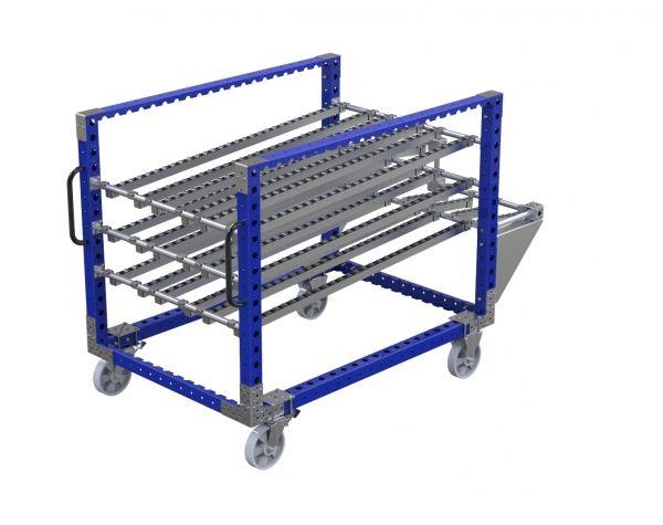 Roller shelf cart 1120 x 1610 mm
